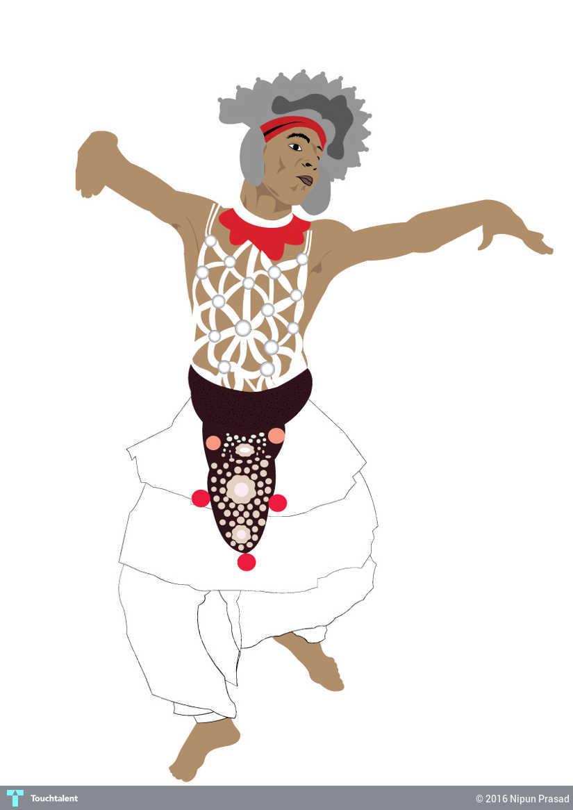 Kandyan Dancer Touchtalent For Everything Creative