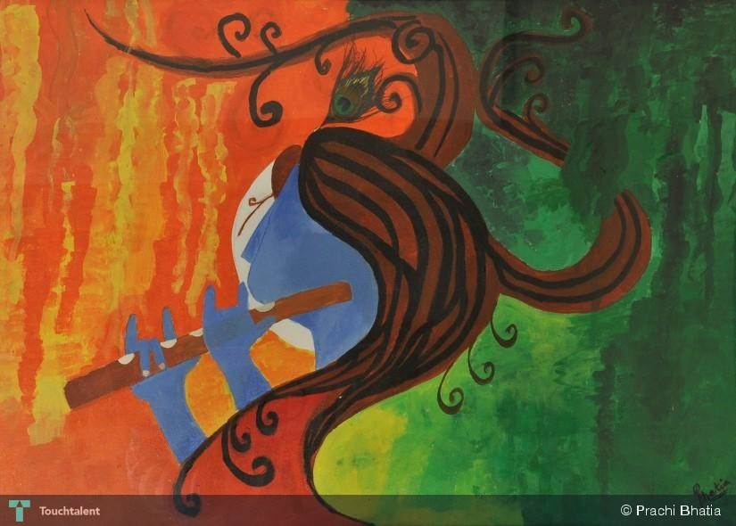 Pictures of Krishna Flute Krishna 39 s Flute in Painting by