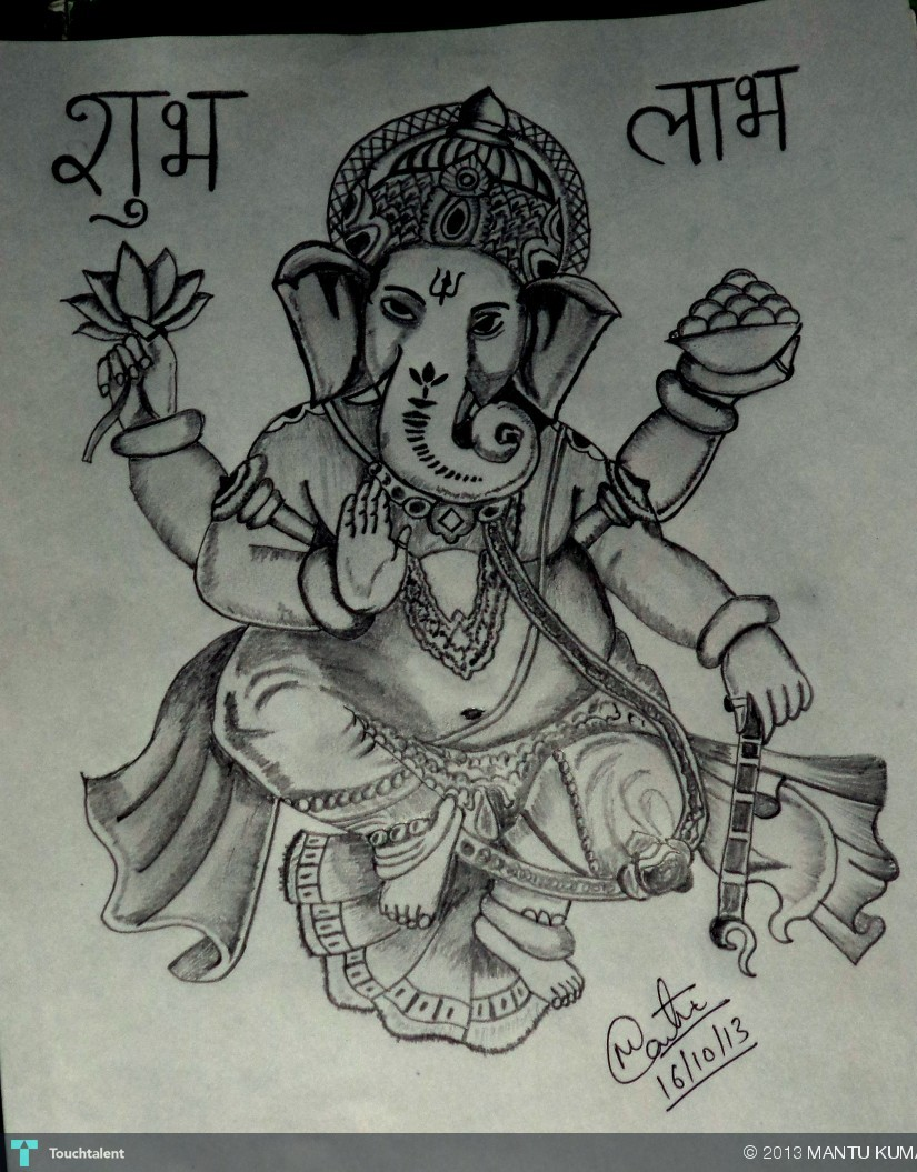 Art By Me lord ganesha artme | touchtalent - for everything creative