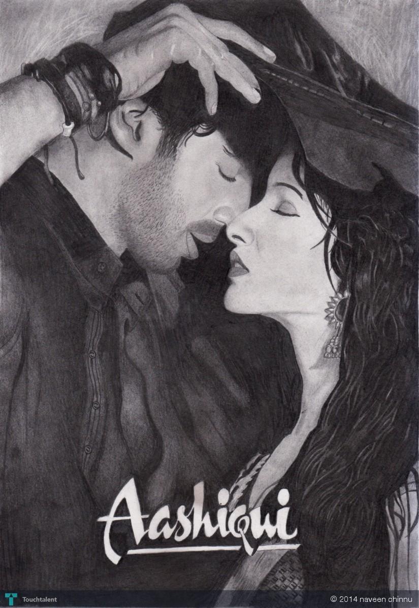 Meri aashiqui ab tum hi ho in sketching by naveen chinnu