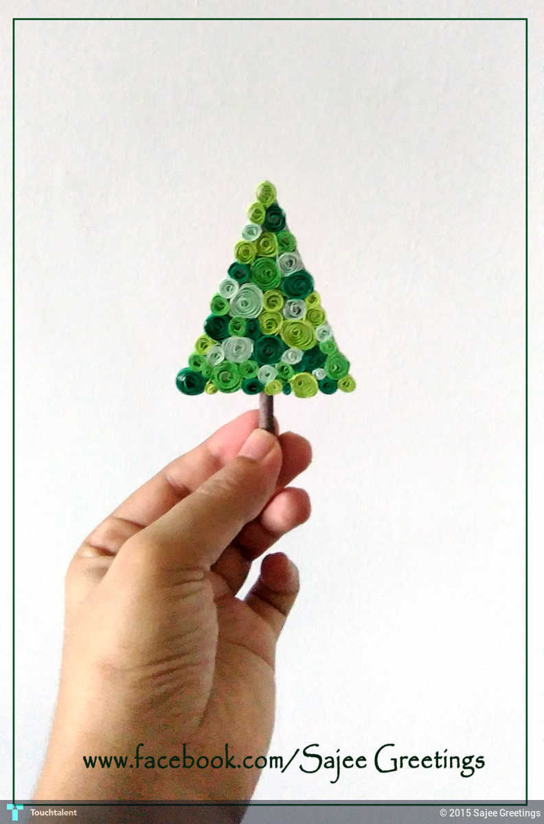 Quilling Christmas Tree Touchtalent For Everything Creative