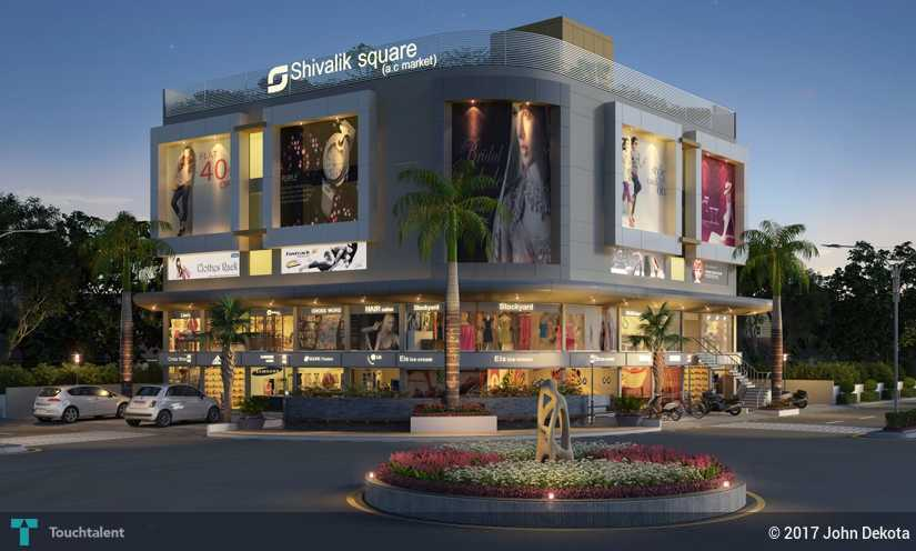 shopping mall exterior design design john dekota