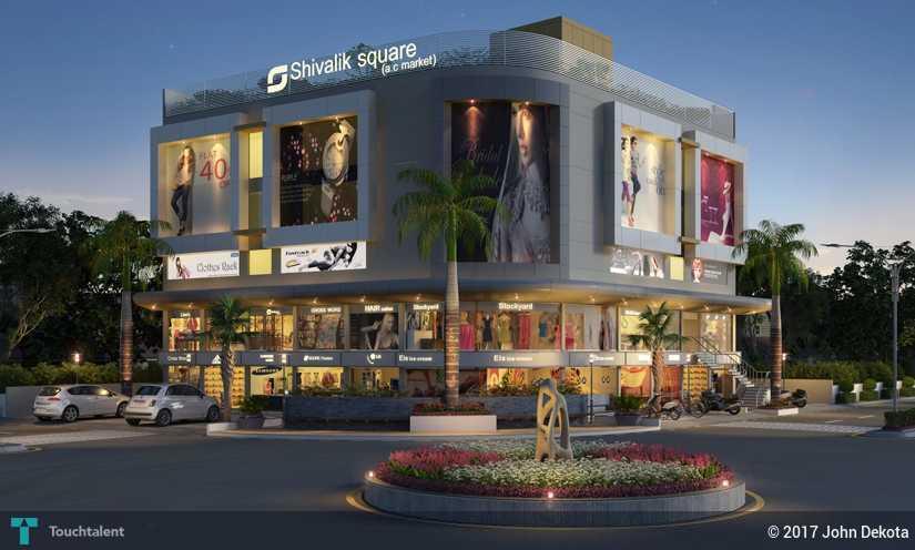 Shopping Mall Exterior Design John Dekota