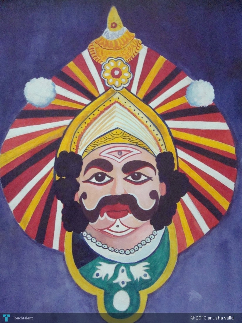 Yakshagana Face Sketch Face Drawing And Images